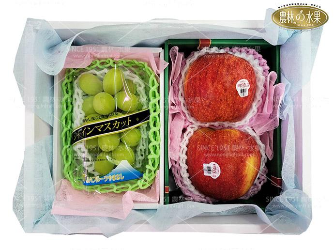 紐西蘭愛妃富士蘋果水果禮盒日本水果日本麝香葡萄日本麝香葡萄禮盒進口麝香葡萄水果禮盒網購水果禮盒