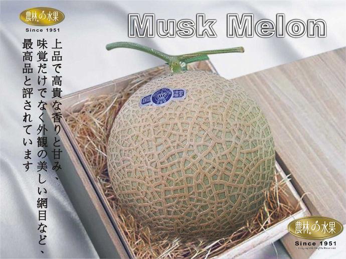 頂級日本靜岡溫室哈密瓜